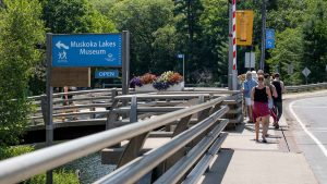 Muskoka Lakes Museum walking tours