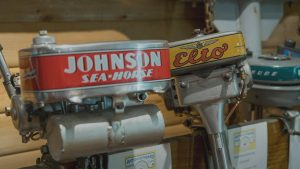 Vintage boat motors