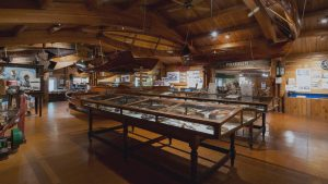 Muskoka Lakes Museum marine room exhibits