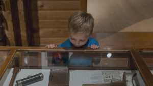 Day camp visits to the Muskoka Lakes Museum