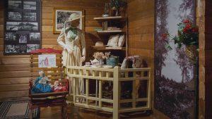 Cottage corner at the Muskoka Lakes Museum