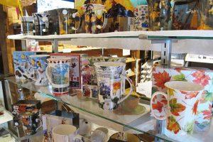 McIntosh Mugs at the Muskoka Lakes Museum gift shop