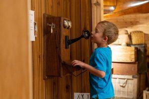 Muskoka Lakes Museum vintage telephones