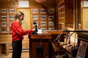 Muskoka Lakes Museum vintage phones