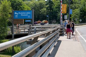 Muskoka Lakes Museum walking tour