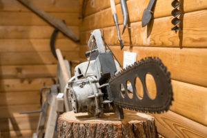 Featured Artifact - 1930s Chainsaw