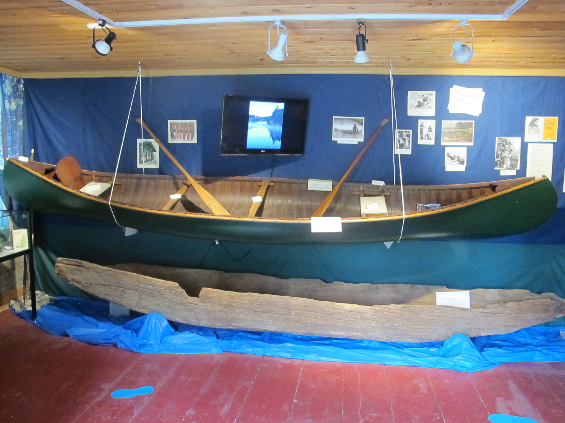 'Canoeing in Muskoka' this season's Featured exhibit